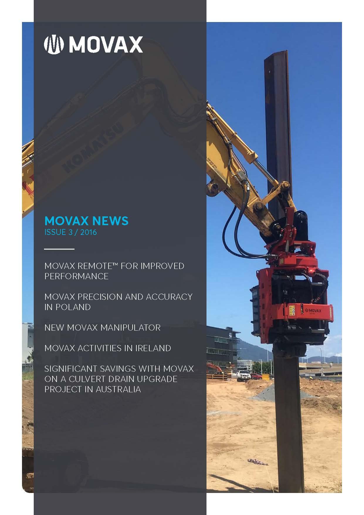 Movax News 03/2016