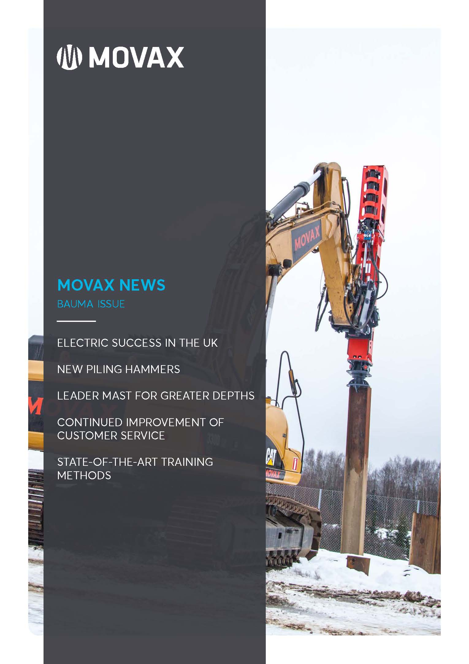 Movax News Bauma issue
